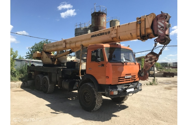 Автокран 16 тонн КС-35714К3-10 Ивановец