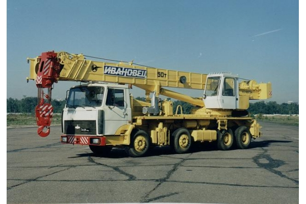 Автокран 50 тонн Ивановец КС-6973