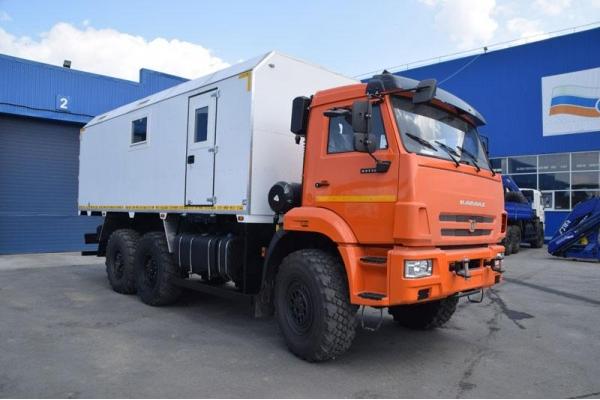 Вахтовый автобус КамАЗ 43502(43206)