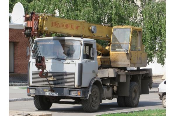 Автокран 16 тонн КС-35715
