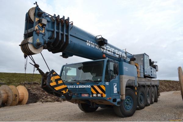 Автокран Terex-Demag AC 100 тонн