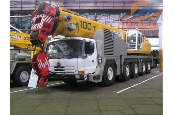 Автокран Ивановец КС-8973 100 тонн