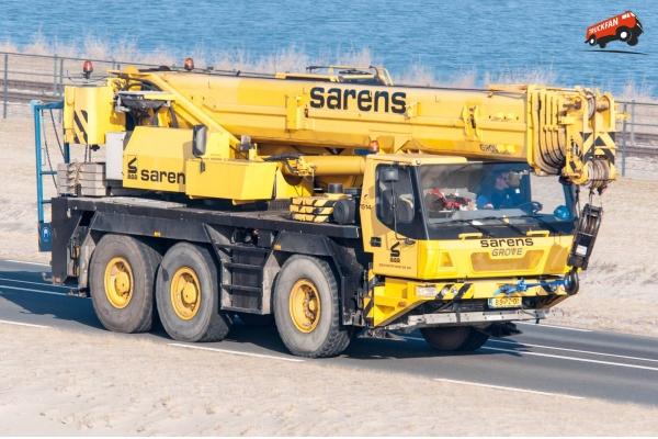 Автокран 55 тонн Grove GMK 3055