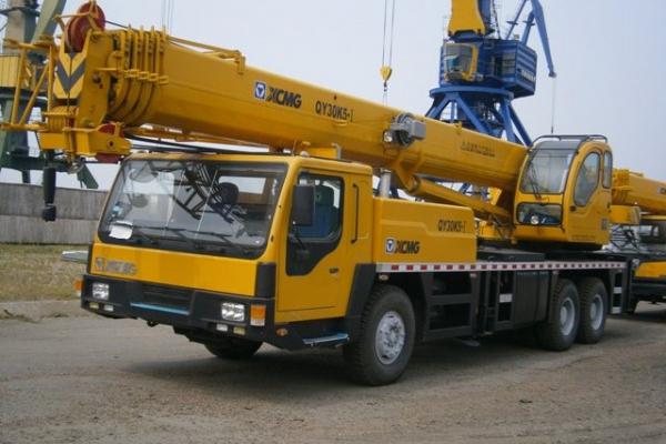 Автокран 30 тонн XCMG QY30K