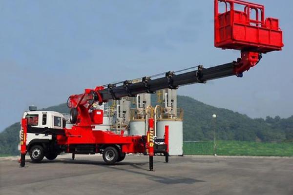 Автовышка 32 метра Horyong SKY320