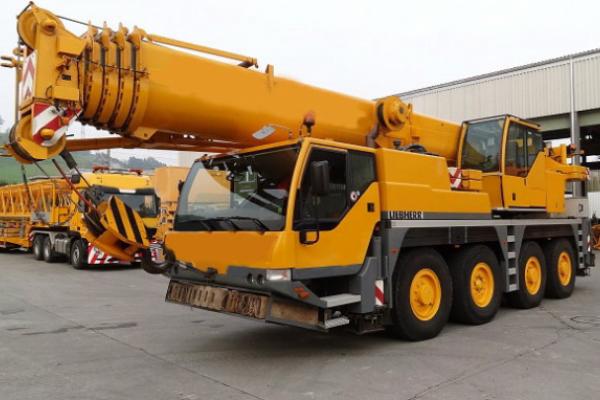 Автокран 60 тонн Liebherr LTM 1060
