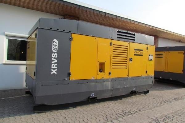 Дизельный компрессор Atlas-Copco XRVS 617/647