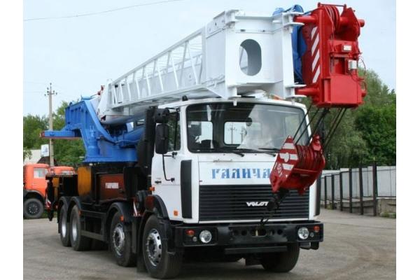 Автокран 50 тонн Галичанин КС-64713-2