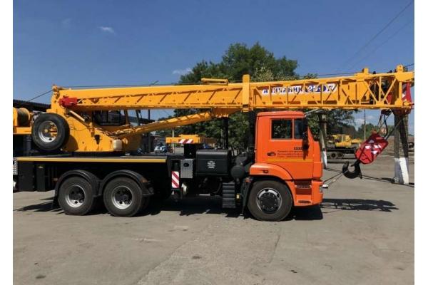 Автокран 50 тонн Галичанин КС-65713-7