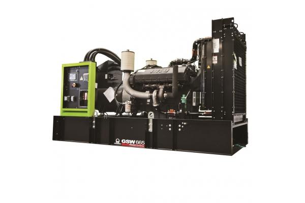 Дизельный генератор GSW665M 527 кВт