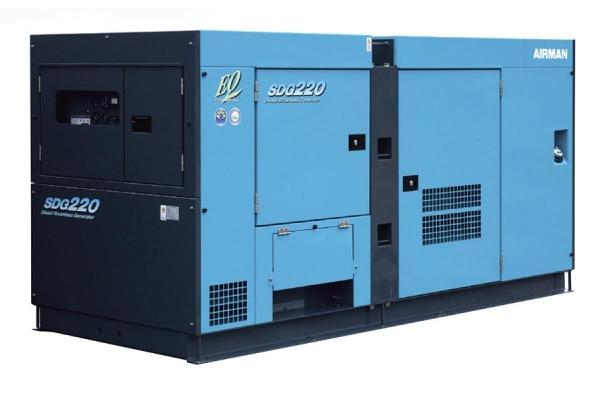 Дизельный генератор Airman SDG 300 S 216 кВт