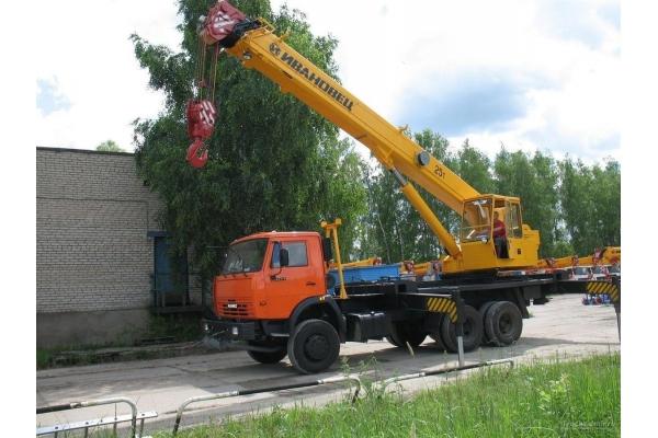 Автокран 25 тонн КС-45717 КАМАЗ (вездеход)