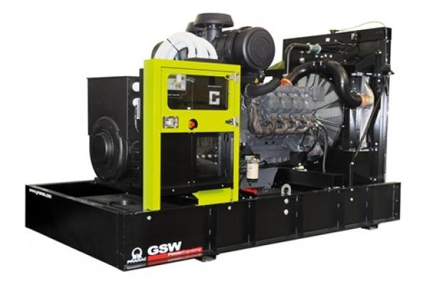 Дизельный генератор GSW630V 480.8 кВт
