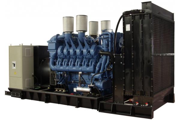 Дизельный генератор GSW2600M 2044 кВт