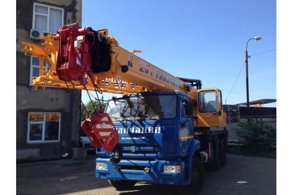 Автокран 30 тонн Галичанин КС-55715-5