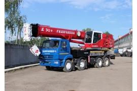 Автокран 30 тонн КС-55715-5 Галичанин