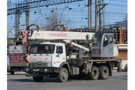 Автокран 25 тонн Челябинец КС-45721-25