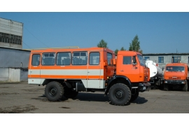 Вахтовый автобус КАМАЗ НЕФАЗ-42111-24
