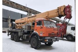 Автокран 25 тонн КС 45717К-3Р КАМАЗ