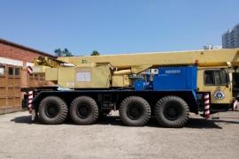 Автокран 55 тонн Liebherr LTM 1055