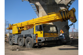 Автокран 50 тонн LIEBHERR LTM 1050-1