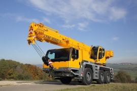 Автокран 50 тонн Liebherr LTM 1050-3.1