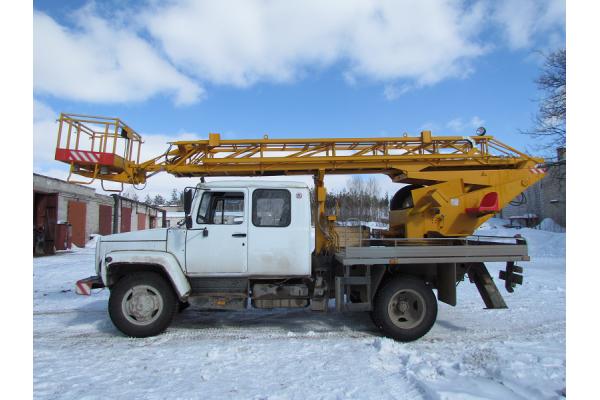 Автовышка 18 метров АГП 18.04