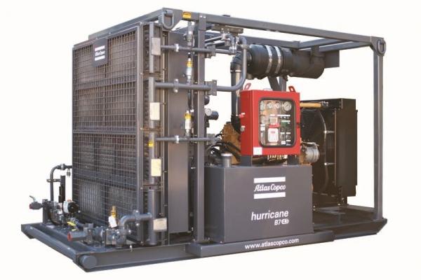 Дожимной компрессор Atlas Copco Hurricane B7-43/4000
