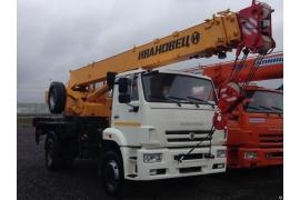 Автокран 16 тонн КС-35714К-2
