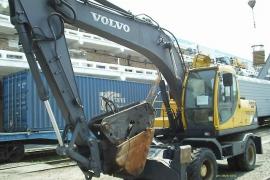 Колесный экскаватор Volvo 170