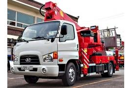 Автовышка 24 метра Horyong Sky 240