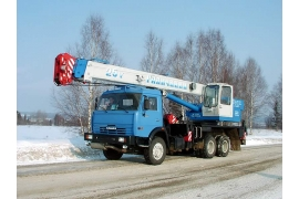 Автокран 25 тонн Галичанин КС-55713-1Б