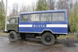 Вахтовый автобус ГАЗ 66