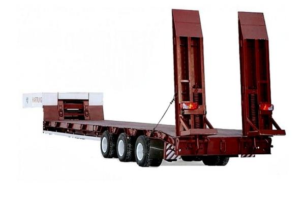 Низкорамный трал 40 тонн
